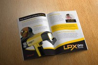 LPX Pro complete branding package and bifold design.