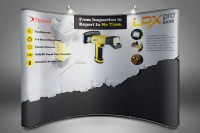 LPX Pro complete branding package and tradeshow graphics.
